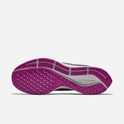 Scarpe Running Nike Air Zoom Pegasus 35 Shield NRG Water-Repellent Uomo, Nere/Viola/Grigie/Argento,