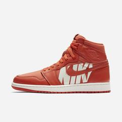 Sneakers Alte Nike Air Jordan 1 Retro High OG Donna, Corallo, 91625-294